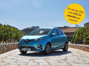 Renault Zoe Private Lease